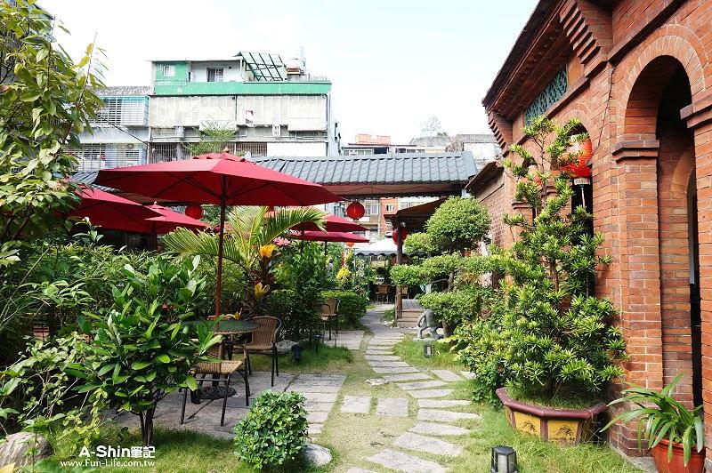 蘆洲老厝邊庭園西餐廳1