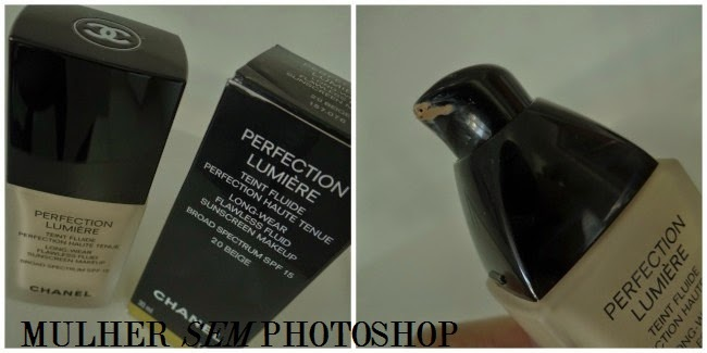 Resenha base perfection Lumiere Chanel