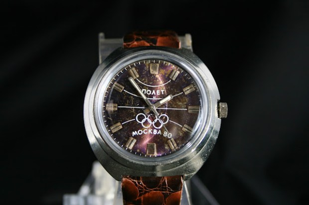 Poljot moscow olympics watch