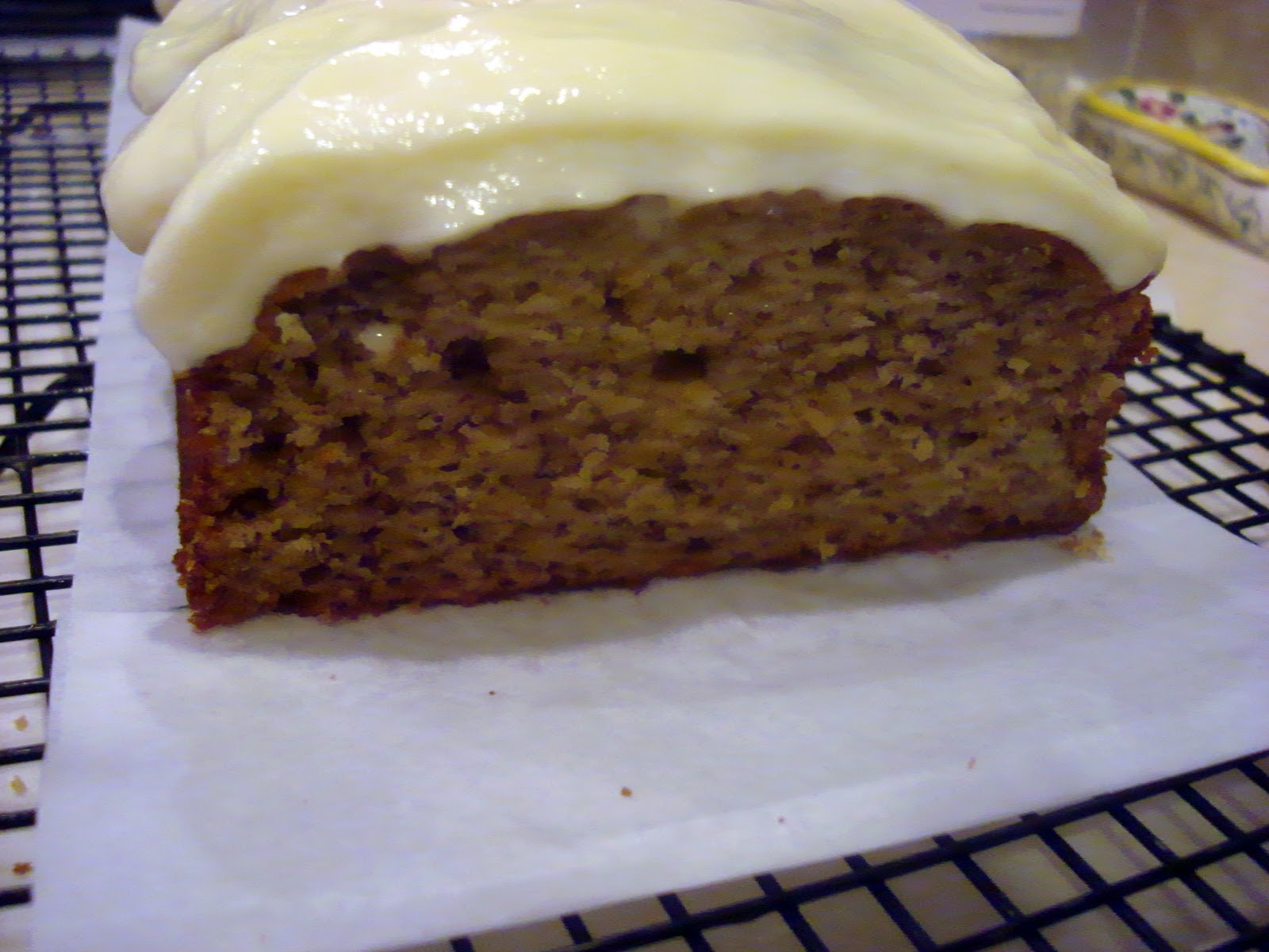 Icing Banana Cake Without Cream Cheese