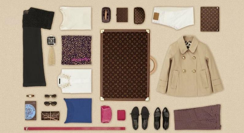 *LV行李箱包裝藝術:Louis Vuitton 路易威登「The Art of Packing 2 」 3