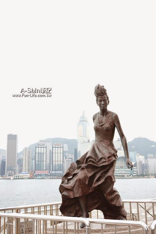 香港尖沙咀景點,星光大道-1