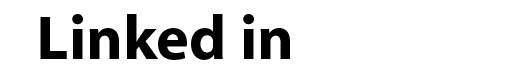 Myriad Bold font logo LinkedIn