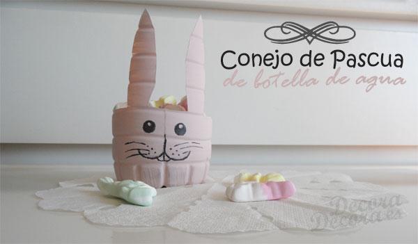 Conejo de Pascua para golosinas