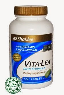 Vita-Lea-Iron-Formula-Shaklee-Multivitamin-Terbaik