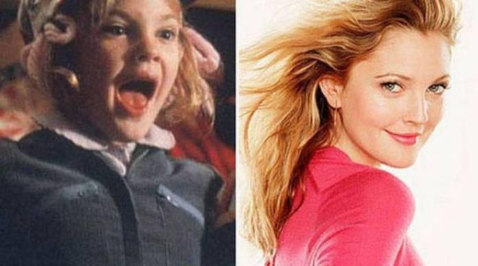 Drew Barrymore de pequeña