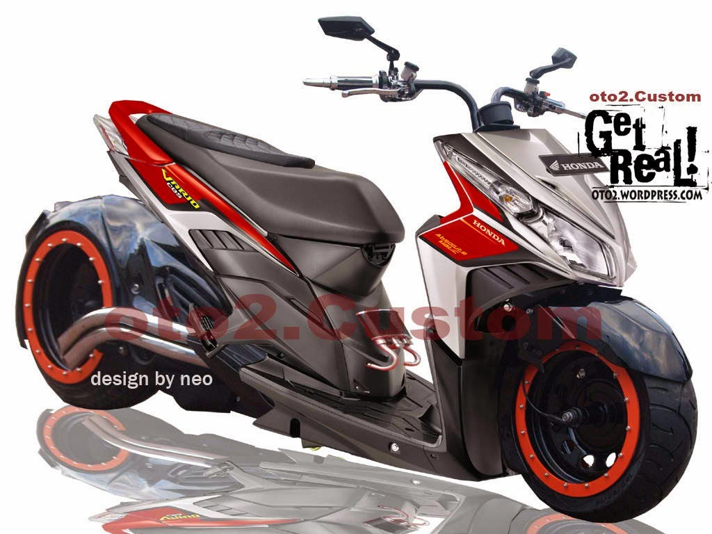 Modifikasi Motor Honda Beat Touring  Thecitycyclist