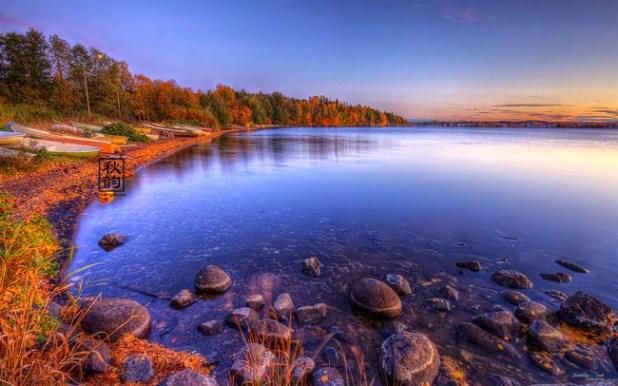 phong cảnh mùa thu
