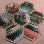 I worked on my Settlers of Catan tiles last night