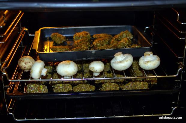 фото-рецепт, курица в панировке из орехов и специй в духовке