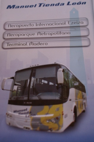 Transport from EZeiza Aiport in Buenos Aires