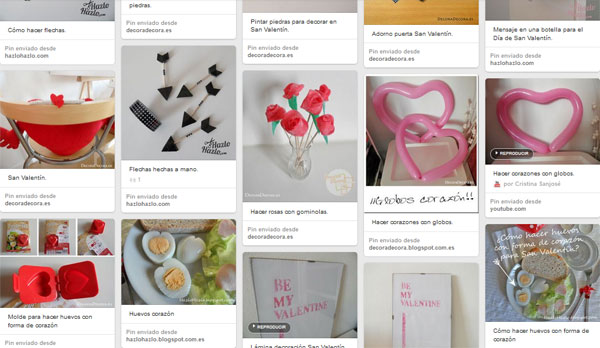 Ideas para decorar en San Valentín
