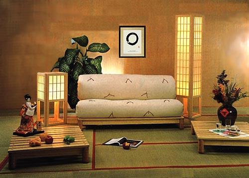 koyu renkli duvarlarının aydınlatma ile odayı canlandırması ve modern kanepesi