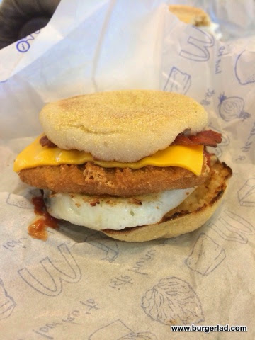 McDonald's McMuffin Chicken and Bacon Review
