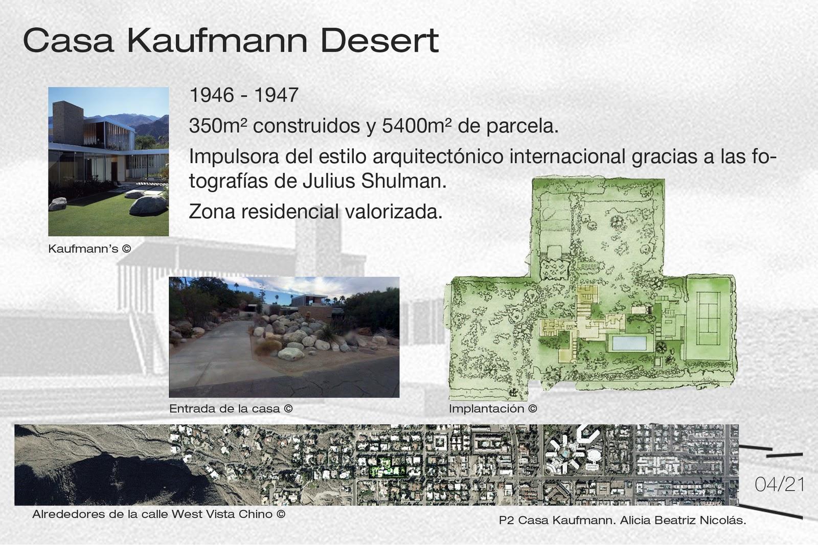 Casa Kaufmann Comentario Arte