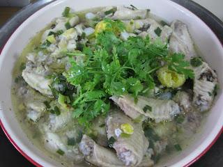 Steamed Salted Egg Chicken Recipe