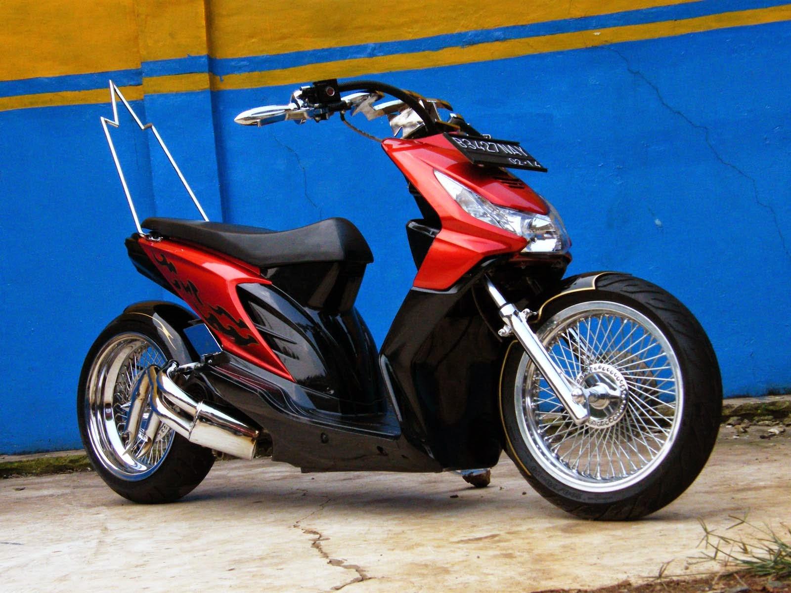 Modifikasi Honda Beat Cw  Thecitycyclist