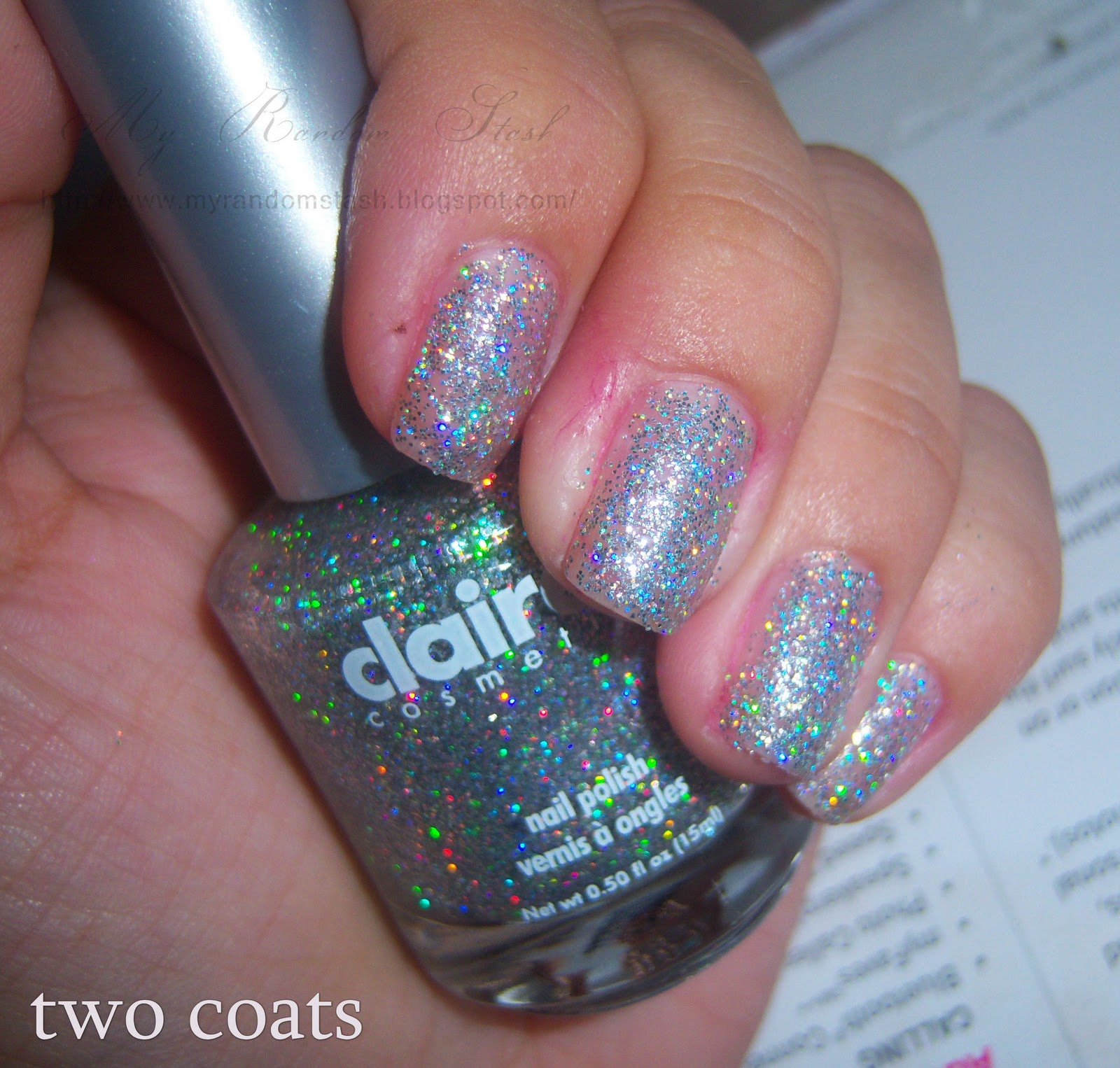 Claire S Holographic Nail Art Kit Ideas