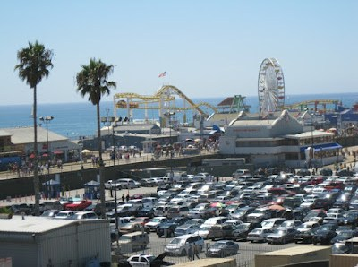 Holiday weekend at the Santa Monica Pier, 9/2/12
