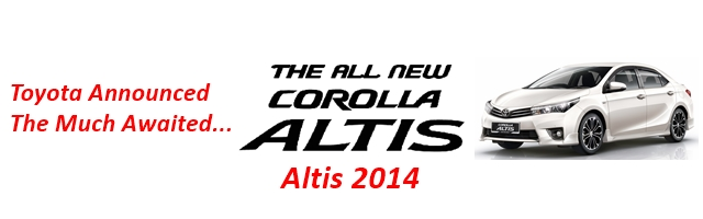 brand new toyota altis price spesifikasi grand veloz 1.3 corolla 2014 launched by indus in pakistan grande