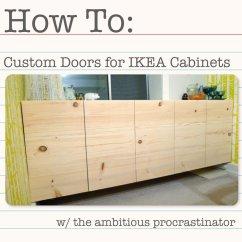 How To Make Kitchen Cabinet Doors Bins The Ambitious Procrastinator Diy Ikea