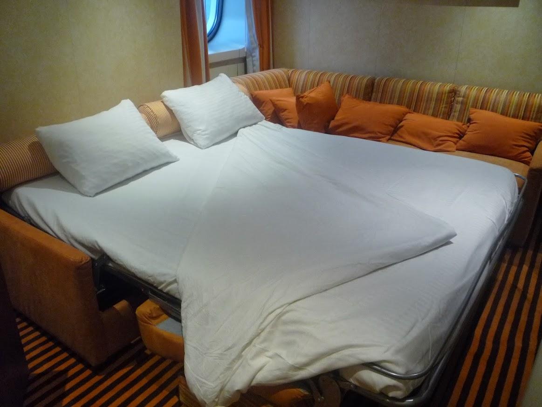 sofa sleeper for cabin set dealer in pune city sunshine deck 5 aft corner room 5340 cruise critic