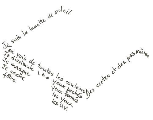 Tu FLE ou tu FLE pas?: Calligraphie + idéogramme = calligramme