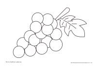 Pin Dibujo-racimo-uvas-dibujos-para-colorear-ajilbabcom ...