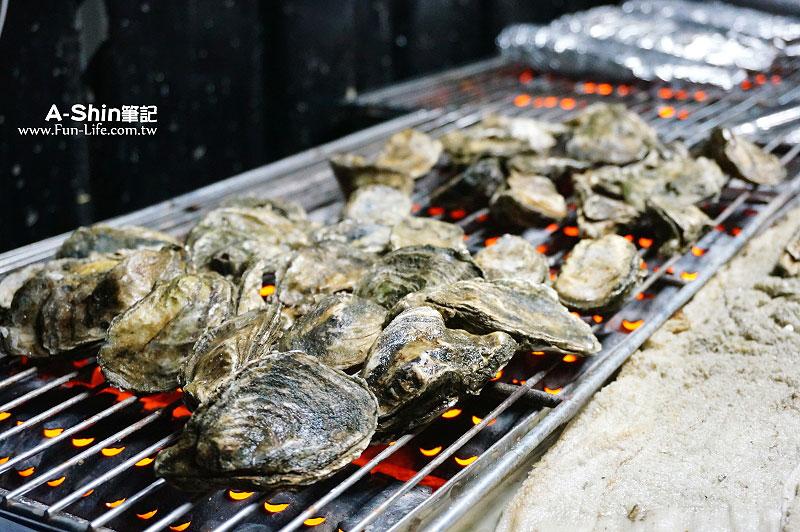 龍井海鮮燒烤-那兩蚵烤鮮蚵5