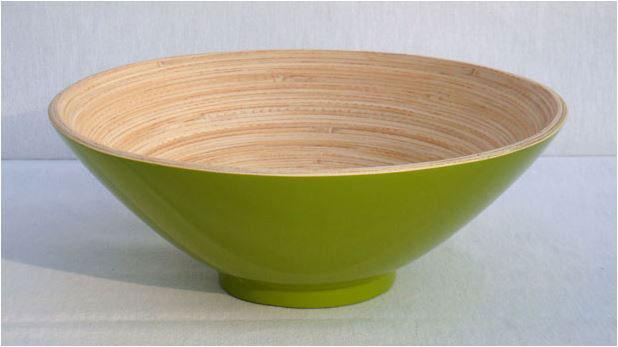 Piezas mesa bambú