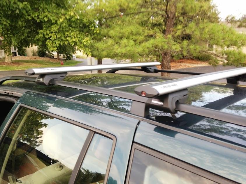 jetta mkiv wagon roof rack cross bars