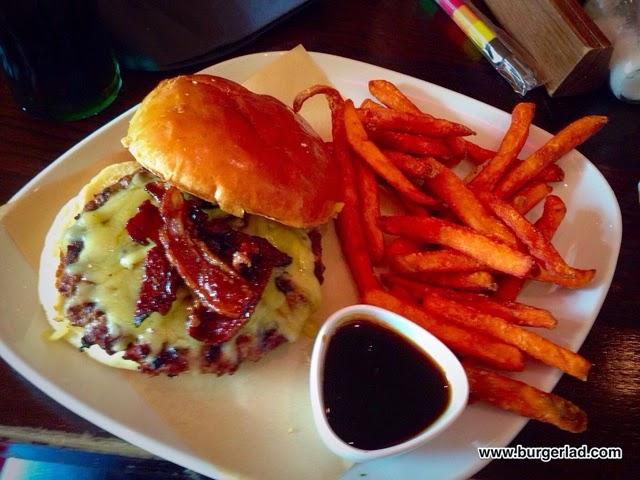 T.G.I. Friday's Double Glazed Jack Daniel's Burger