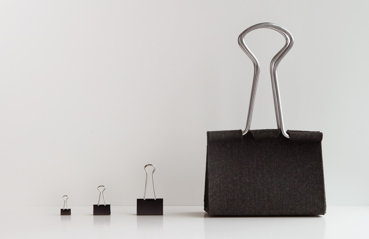 # Clip Bag長尾夾手提包:辦公文具與你形影不離! 8