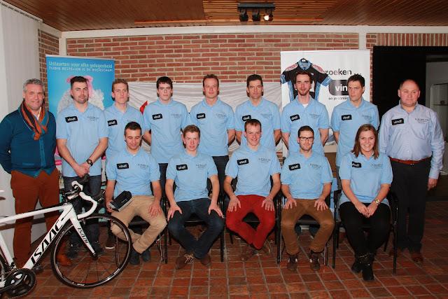 de ploeg van Vind Cycling Project