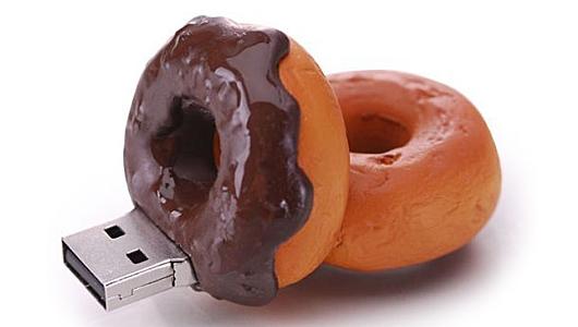 Doughnut Flash Drive