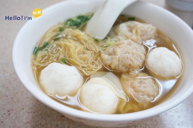 香港中西區中環美食,權記雲吞麵-1