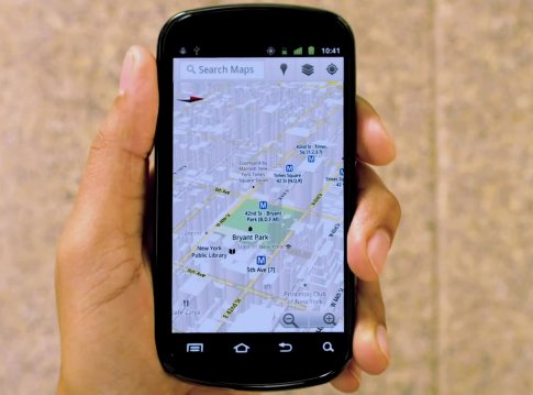 Google Maps, mas consultados desde moviles que desde PCs