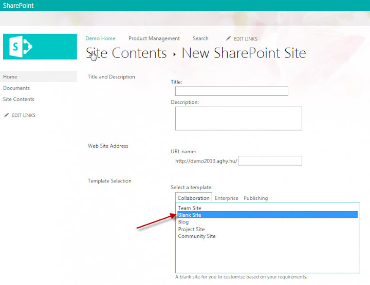 site templates in sharepoint 2013