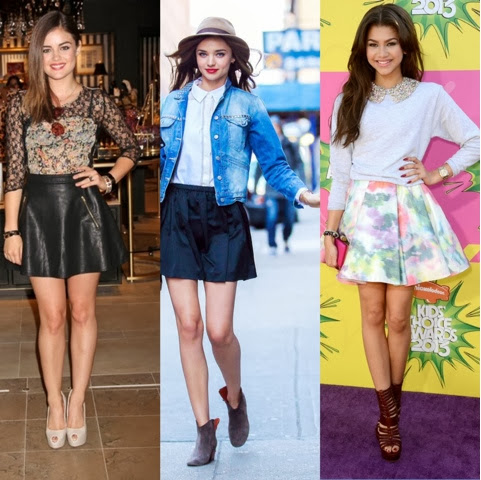 The Sexy Skater Skirt Trend