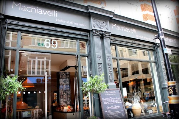 Dica de caf italiano em londres machiavelli em covent for Cafe de jardin in covent garden