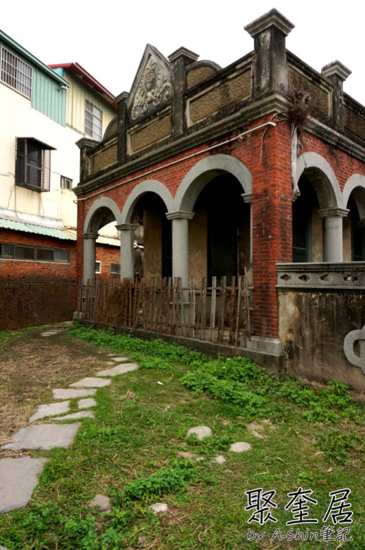 聚奎居|隱藏台中烏日的巴洛克式宅院聚奎居,取景拍照這裡可是小熱門~聚奎居真的不是鬼屋!