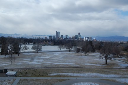 View from the Denver Museum of Nature and Science
