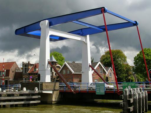 Stationsbrug in Frentsjer