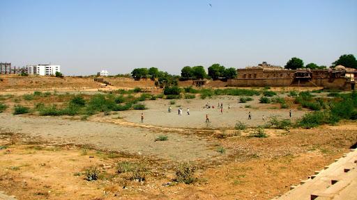 Panorama of Sarkhej Roza