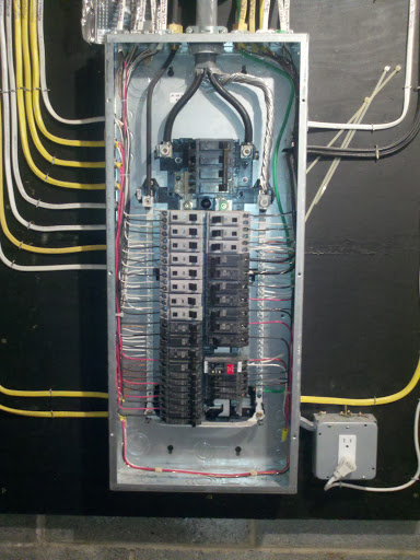 100 Amp Garage Service Wiring Diagram Ge Powermark Gold Bonding Concern