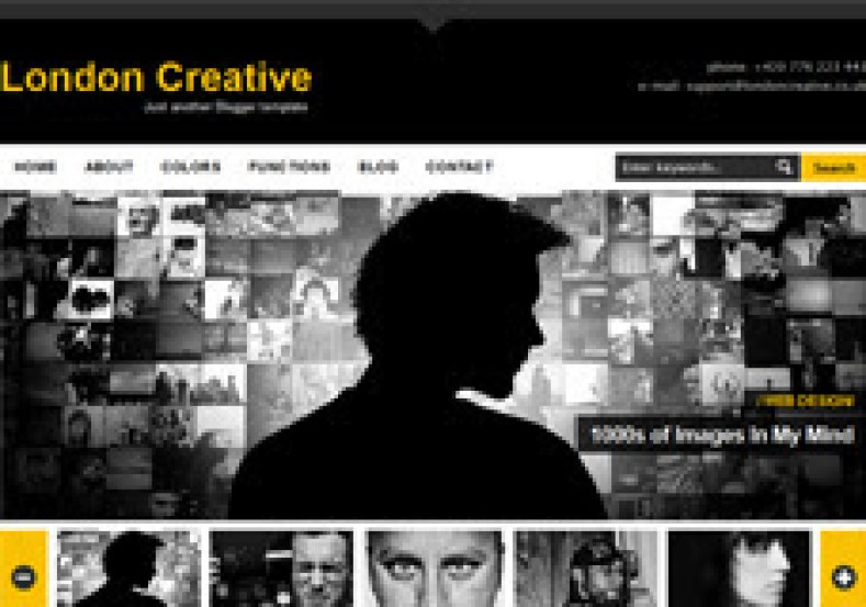 London Creative is a fashionable blogger template alongside fashionable features such equally slider auto r How To Setup London Creative Blogger Template