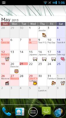 *完整自訂外觀的行事曆:Jorte (備忘記事本) (Android App) 1