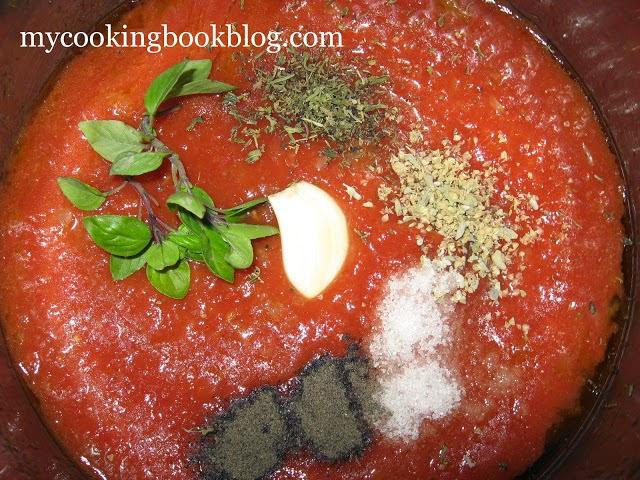 Домашен доматен сос