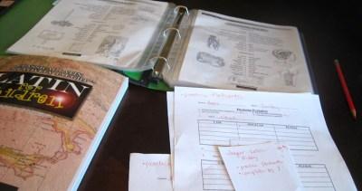 latin lessons homeschooling