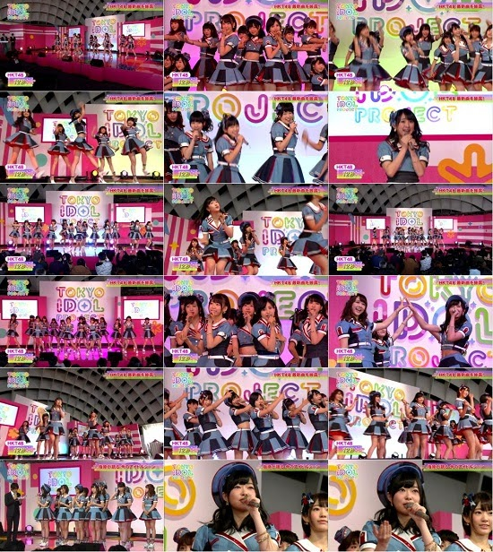 (TV-Music)(1080i) HKT48 Part – TOKYO IDOL PROJECT 150330